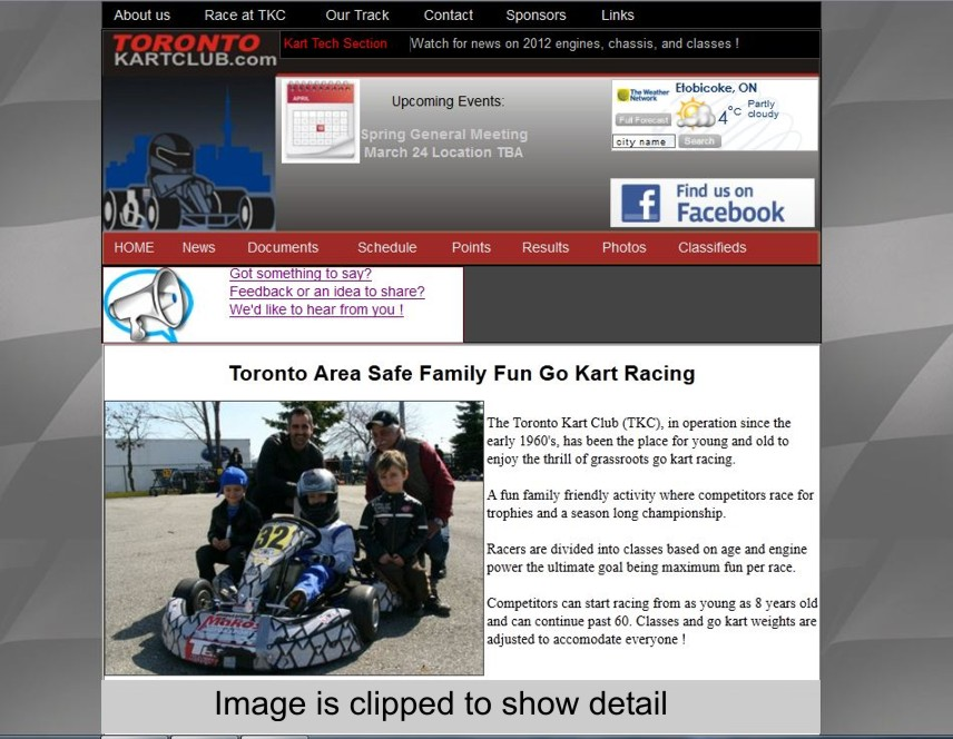 A thumbnail image of Toronto Kart Club